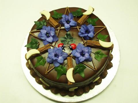 Pagan Birthday Cake